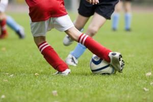 les blessures de football